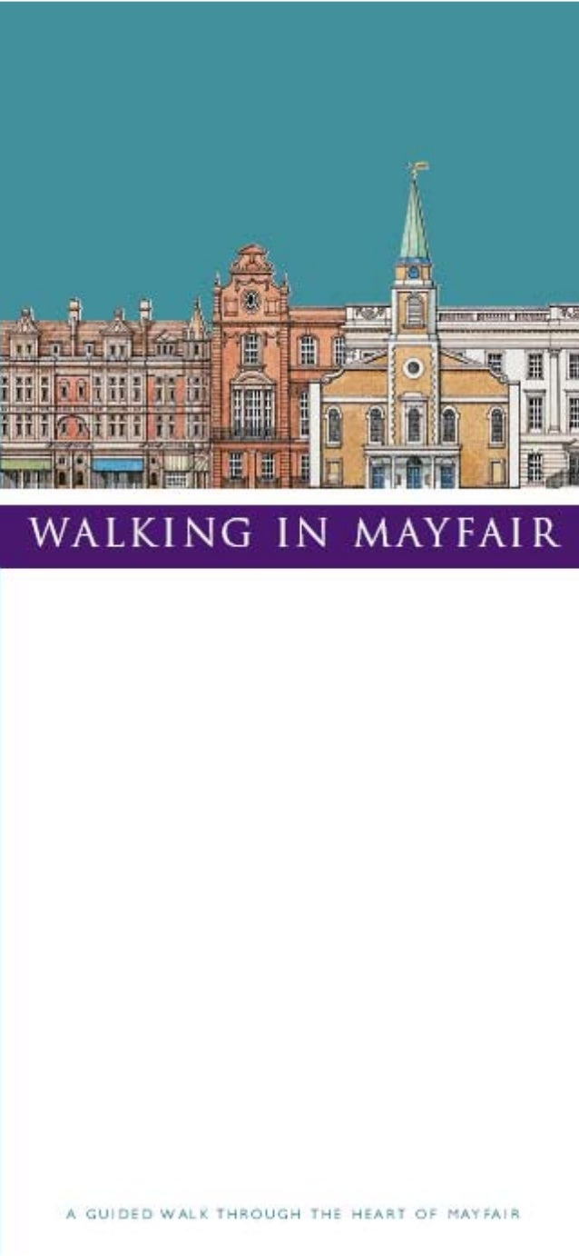 The suggested walk through Mayfair takes about 2 hours. It offfers views of typical Mayfair houses and other buildings but...