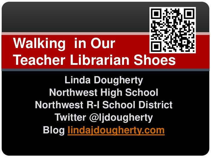 e3fcf7714a60 Walking in our teacher librarian shoes