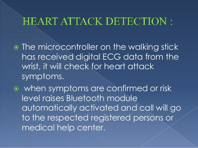 walking stick with heart attack detection essay