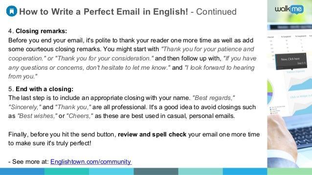 how to write an effective emails