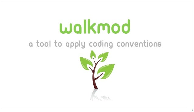walkmod a tool to apply coding conventions 1