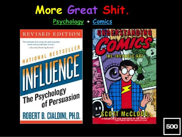 More Great Shit.  Psychology + Comics