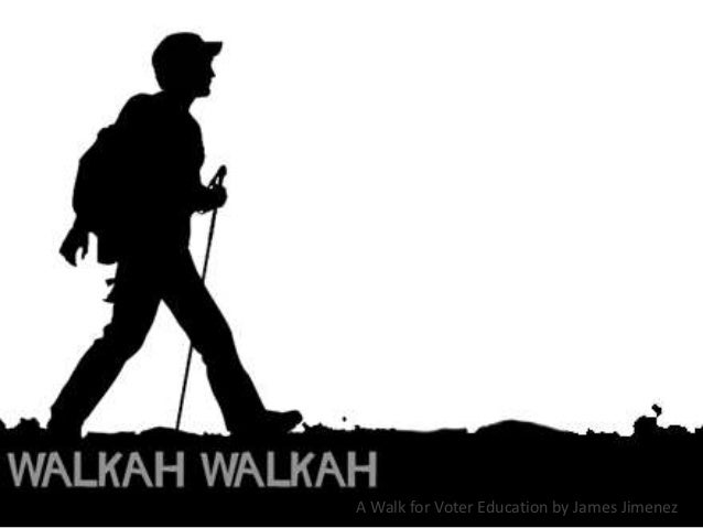 A Walk for Voter Education by James Jimenez