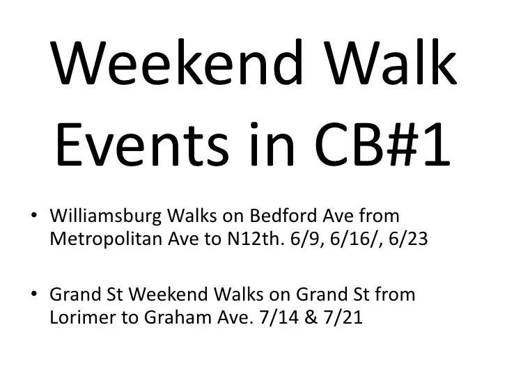 Walks 2012 presentation Slide 3