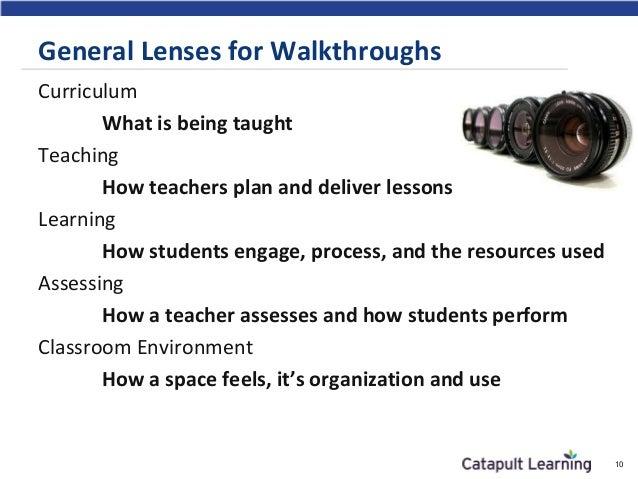 Effective Walkthroughs In Math And Ela Classrooms