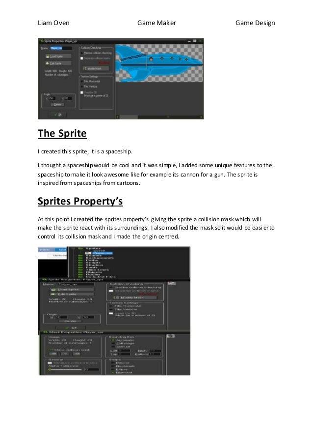 2D Game Maker Walkthrough tutorial by Liam Oven