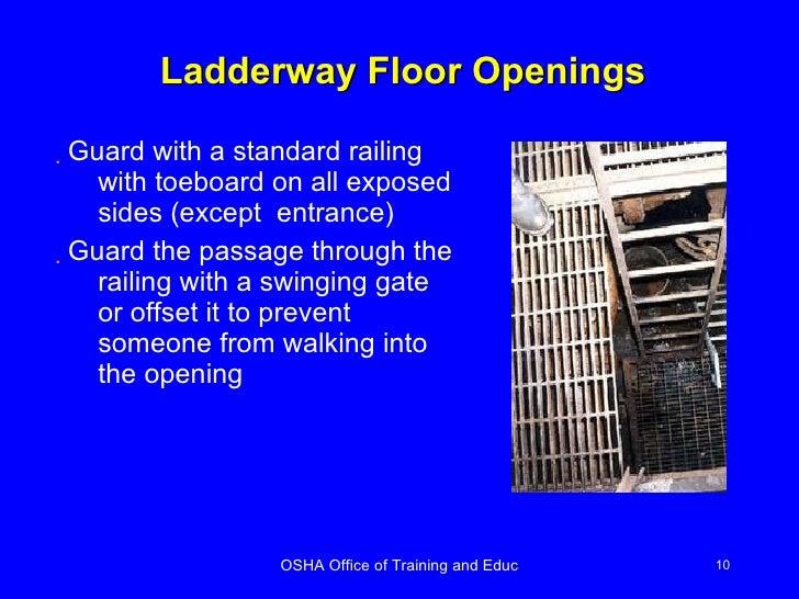 Floor openings osha definition gurus floor for Work floor meaning