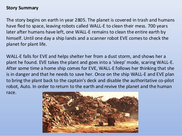 wall e environmental message