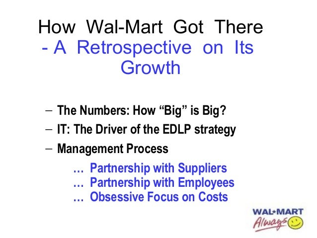 strategies to sustain wal mart's growth domestically Saving the planet: a tale of two strategies and the promotion of growth fish sandwiches comes from sustainable fisheries walmart contributes to rain.