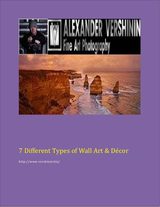 7 Different Types Of Wall Art Decor