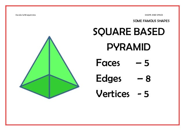 how to draw a square based pyramid