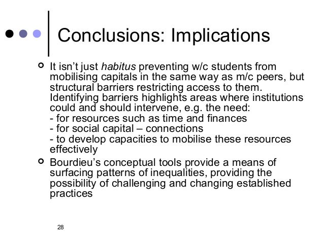 Higher education, social class and the mobilisation of ...