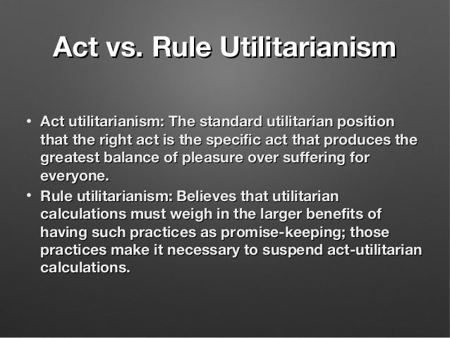 difference between act and rule utilitarianism 2 act and rule utilitarianism philosophy and ethics loading unsubscribe from philosophy and ethics  what is act utilitarianism.