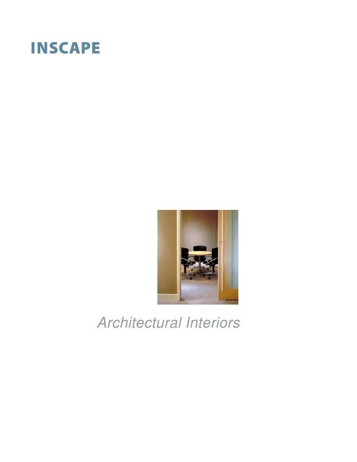 Architectural Interiors