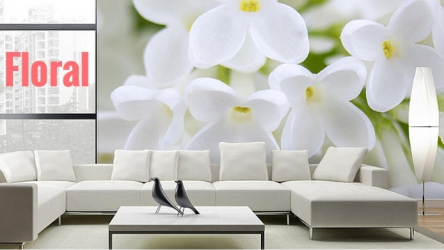 Use Creative Wallpapers To Brighten Up Your Room; 2.