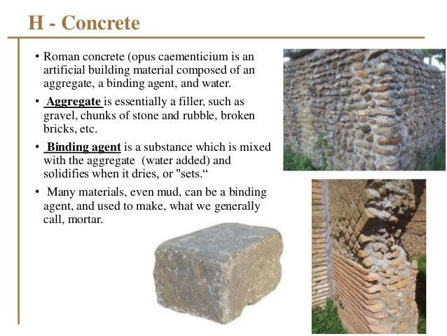 Pozzolana Cement Italy : Roman walls