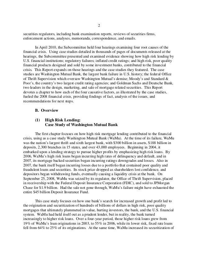 washington mutual case study