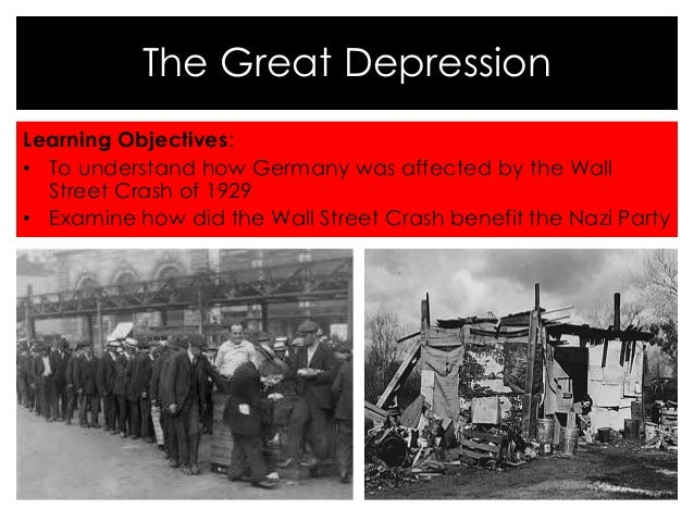how the great depression affected a