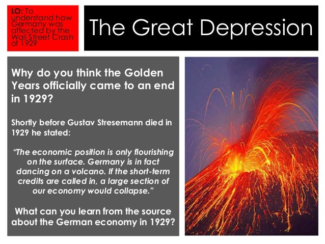 the great depression 2 The great depression (1929-39) was the deepest and longest-lasting economic downturn in the history of the western industrialized world in the united states, the great depression began soon after the stock market crash of october.