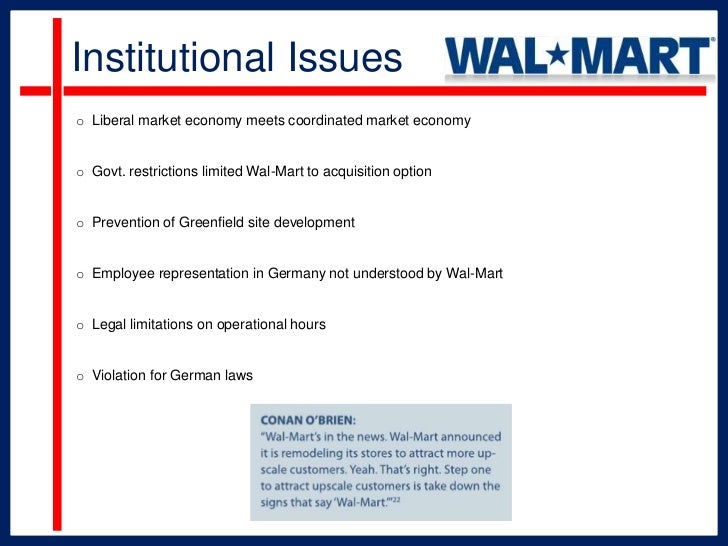 wal marts failure in germany Assistir ao vídeo wal-mart will close 269 stores across the globe, 154 of which are in the us  wal-mart to close 269 stores as it.