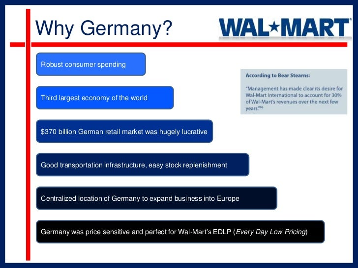 Why Did Walmart Leave Germany?