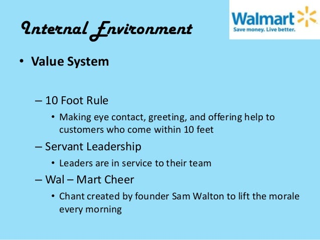 micro and macro environment of walmart The impact of micro and macro environment factors on marketing there are two kinds of external marketing environments micro and macro these environments' factors are beyond the control of marketers but they still influence the decisions made when creating a strategic marketing strategy.