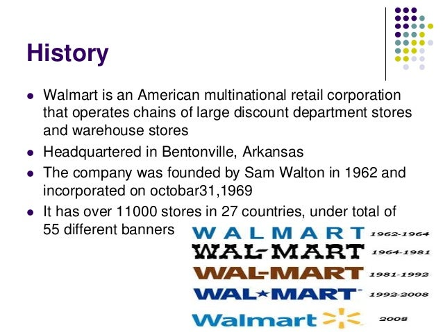 history of walmart Visit our historical nasdaq official close price (nocp) page to view the history get up to 10 years of daily historical stock prices & volumes select the timeframe.