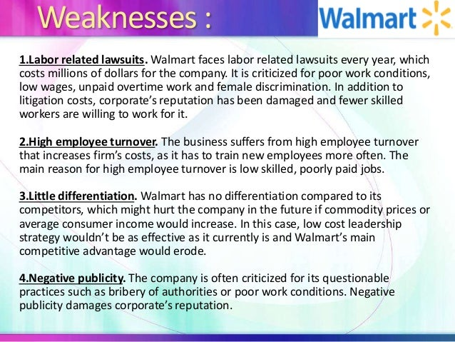 wal mart 8 essay Im writing a 2000 word argumentative essay on wal-mart and i need a thesis my main points are, how does qal-mart deal/treat with its custumers, how does it deal/treat with its employees, how does it treadt/deal with its manufacturers/and local businesses/communites i need a good thesis which i can use to relate to all of these points.
