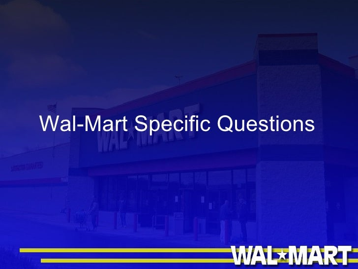 wal mart case study rfid and Free essay: introduction technology is inevitable in every sphere of life today it has always made things easier wal-mart works on the same strategy, from.