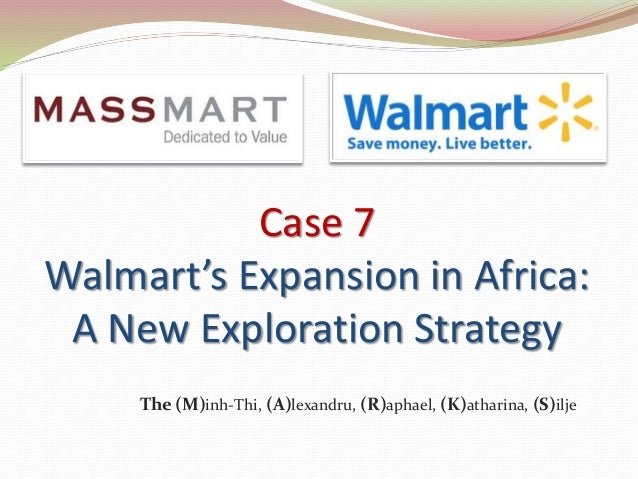 Wal mart s expansion to other states and