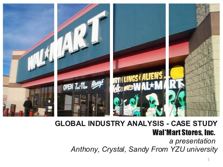 a case study and history of wal mart stores In 1993 just 1 percent of all wal-mart stores were located outside the united  1  abstracted from a 1996 case study of wal-mart by rob lynch, mba, tuck.