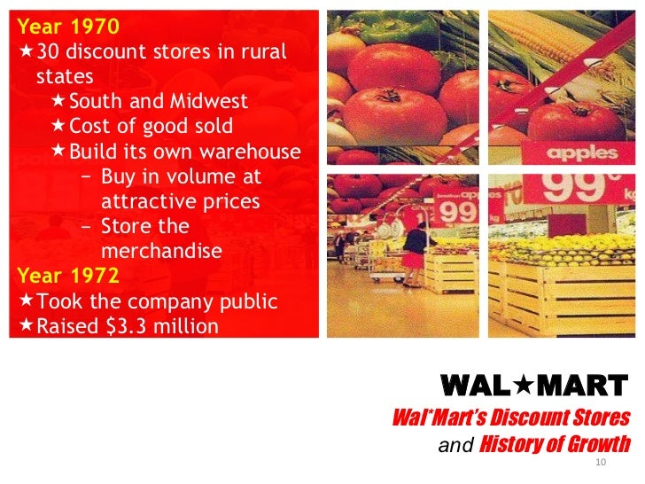 walmart discount stores case study