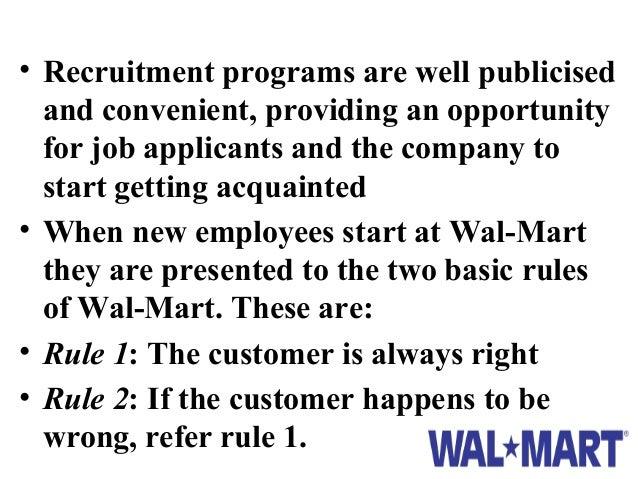 Walmart's HRM: HR Planning, Job Analysis & Design