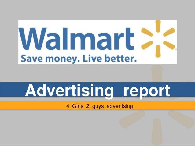 Advertising report     4 Girls 2 guys advertising