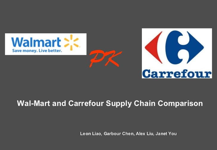 Leon Liao, Garbour Chen, Alex Liu, Janet You Wal-Mart and Carrefour Supply Chain Comparison PK