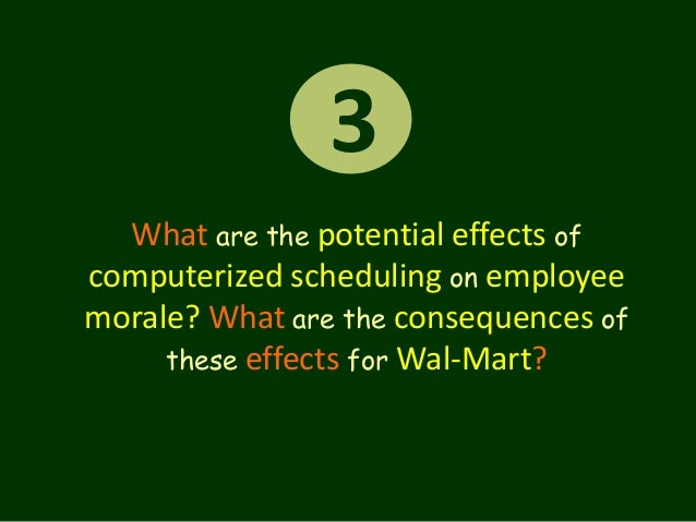 what are the potential effects of computerized scheduling on employee morale Electrical preventive maintenance is the  such an understanding explains other intangible benefits such as improved employee morale,  computerized maintenance.