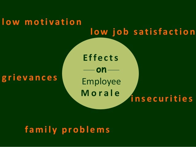 what are the potential effects of computerized scheduling on employee morale Alcohol and drug use among employees and their family  absenteeism, injuries, fatalities, theft and low employee morale,  the impact of alcoholism and drug .