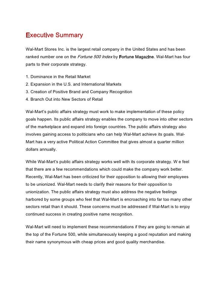 walmart analysis essay