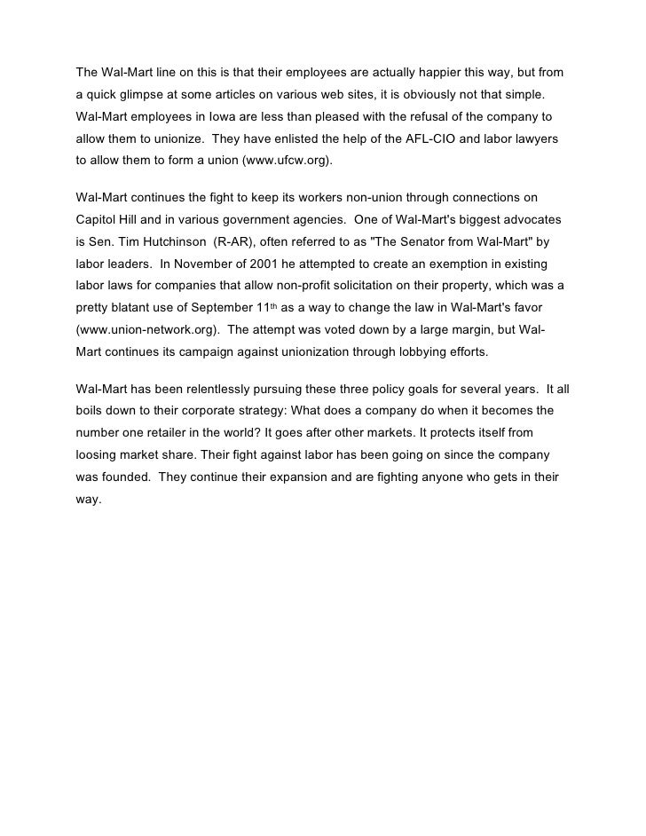 Wal Mart Case Study by dhimant