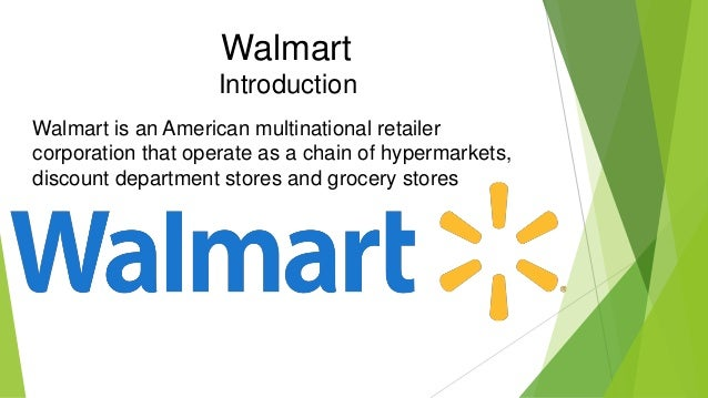 walmart competitor map walmart introduction walmart is an american multinational retailer corporation that operate as a chain of hypermarkets