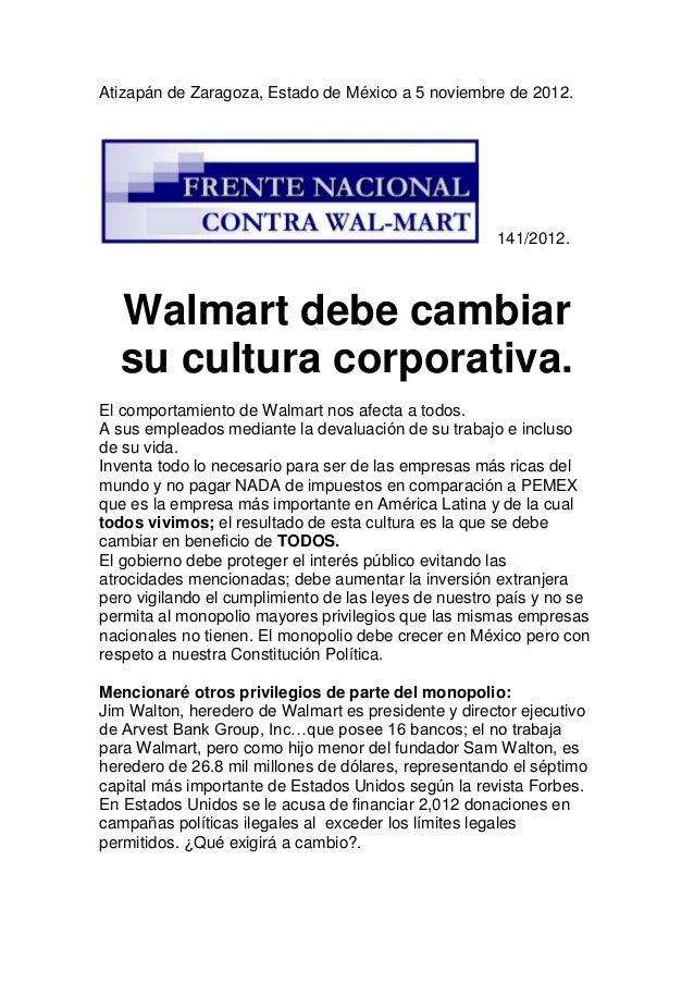 Atizapán de Zaragoza, Estado de México a 5 noviembre de 2012.                                                      141/201...