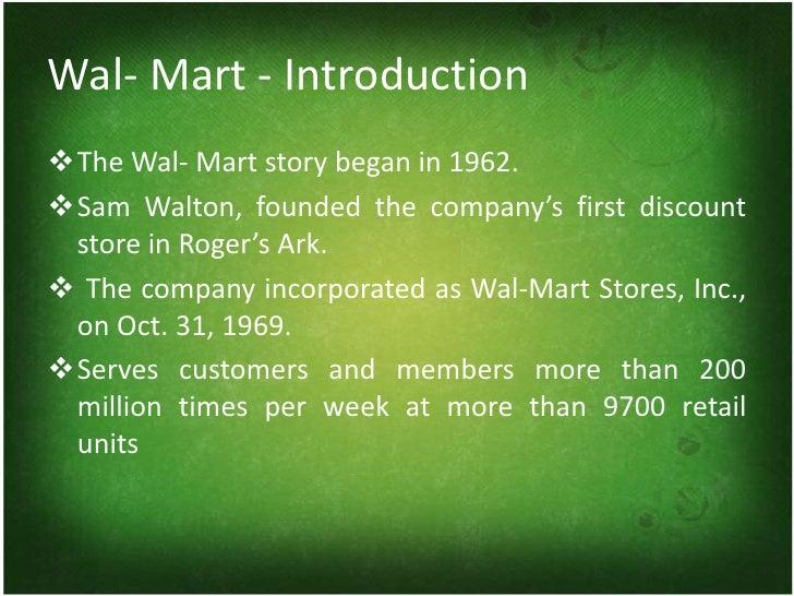 Criticism of Walmart