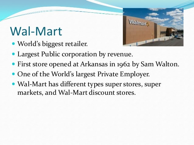essay on walmart Free walmart papers, essays, and research papers.