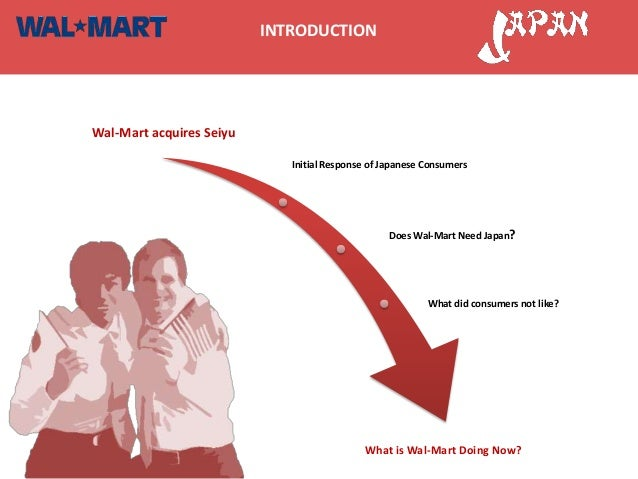 INTRODUCTIONWal-Mart acquires Seiyu                             Initial Response of Japanese Consumers                    ...