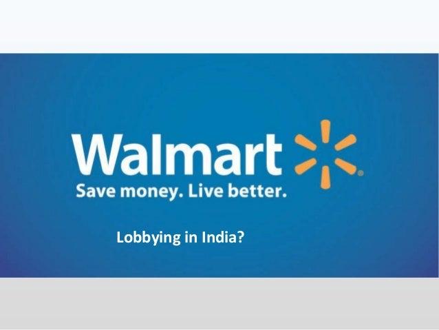 Lobbying in India?