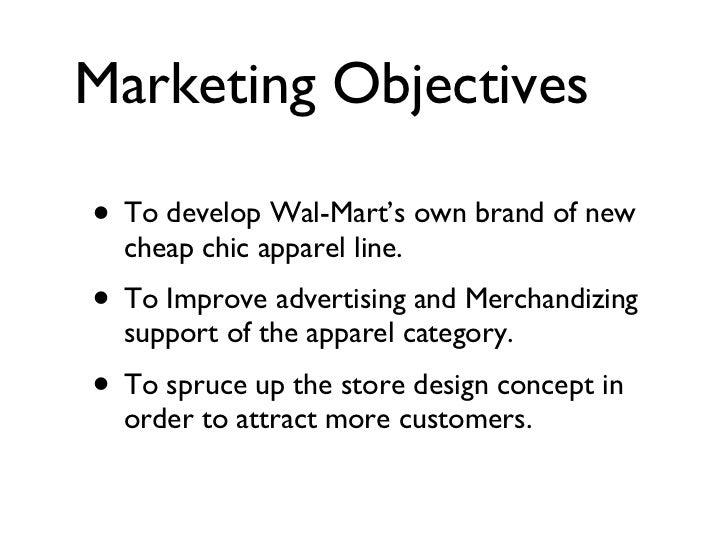 Walmart marketing plan