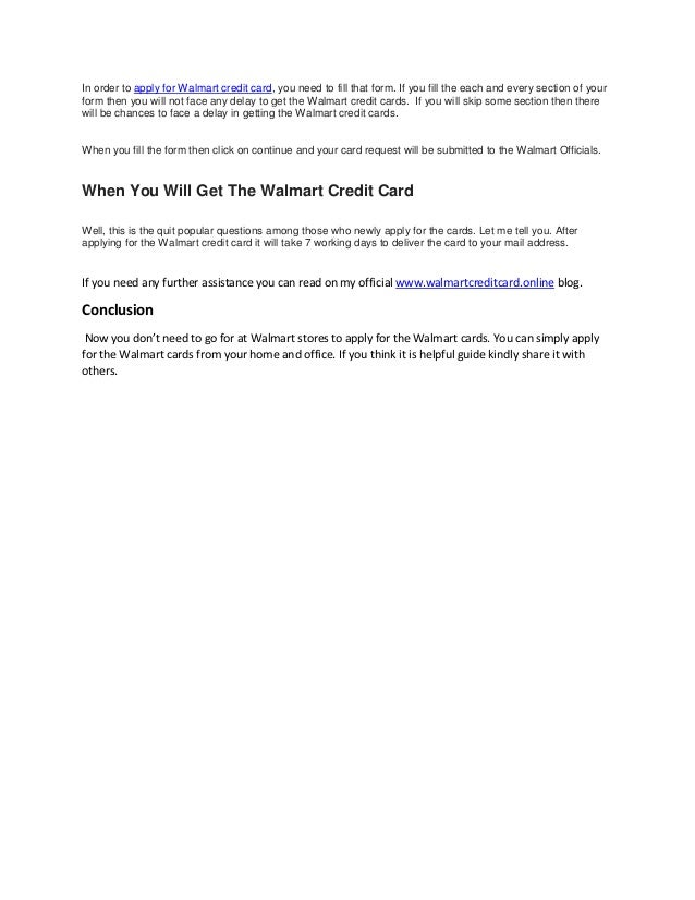How To Apply For Walmart Pdf Guide