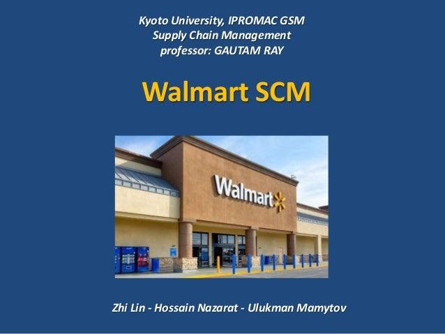Case Study Supply Chain Management of Walmart