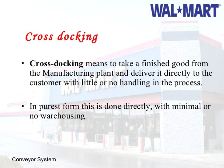 Walmart Scm