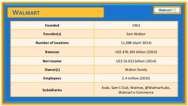 Walmart SCM Slide 3